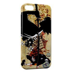 Coque iPhone 5/5S/SE Samurai Champloo Manga