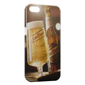 Coque iPhone 5/5S/SE San Miguel Bière Cerveza Espagnole 4