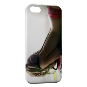 Coque iPhone 5/5S/SE Sexy Dread Girl