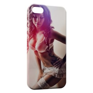 Coque iPhone 5/5S/SE Sexy Girl 16