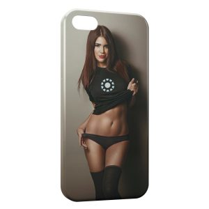 Coque iPhone 5/5S/SE Sexy Girl 19