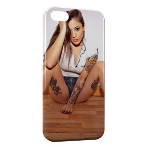Coque iPhone 5/5S/SE Sexy Girl 28