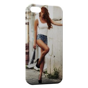 Coque iPhone 5/5S/SE Sexy Girl 30