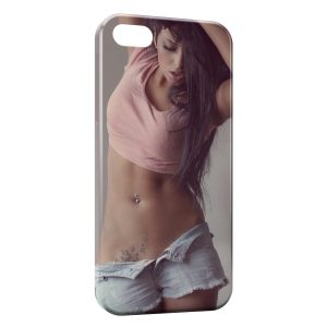 Coque iPhone 5/5S/SE Sexy Girl 42
