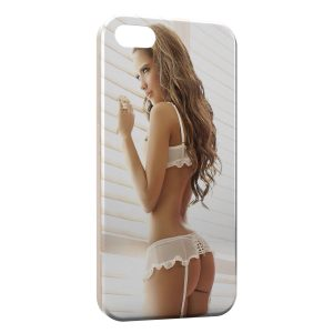Coque iPhone 5/5S/SE Sexy Girl 50 Malcolm X