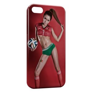 Coque iPhone 5/5S/SE Sexy Girl Portugal 2