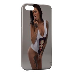 Coque iPhone 5/5S/SE Sexy Girl Tattoo