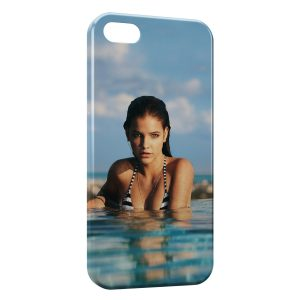 Coque iPhone 5/5S/SE Sexy Girl & Water