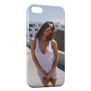 Coque iPhone 5/5S/SE Sexy Girl Wet Tshirt