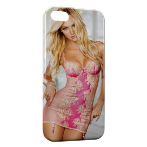 Coque iPhone 5/5S/SE Sexy Girl blonde
