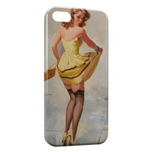 Coque iPhone 5/5S/SE Sexy Pin Up 3