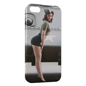 Coque iPhone 5/5S/SE Sexy Pin Up