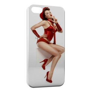 Coque iPhone 5/5S/SE Sexy Pin Up 5