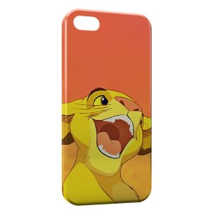 Coque iPhone 5/5S/SE Simba Le Roi Lion