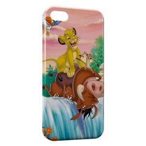 Coque iPhone 5/5S/SE Simba Timon Pumba Le Roi Lion 2