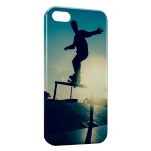 Coque iPhone 5/5S/SE Skateboarding & Sunshine