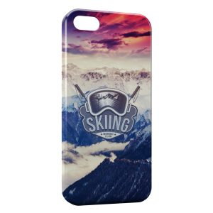 Coque iPhone 5/5S/SE Skater & Sunset