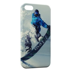 Coque iPhone 5/5S/SE Snowboarding 2