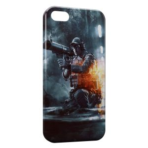 Coque iPhone 5/5S/SE Soldat Fire Style 2
