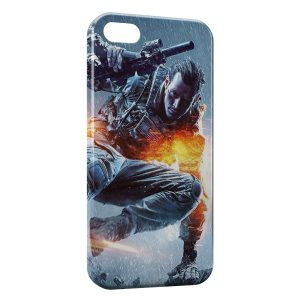 Coque iPhone 5/5S/SE Soldat Fire Style