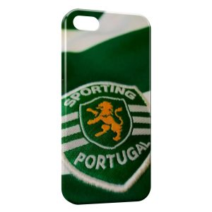 Coque iPhone 5/5S/SE Sporting Portugal Football 3