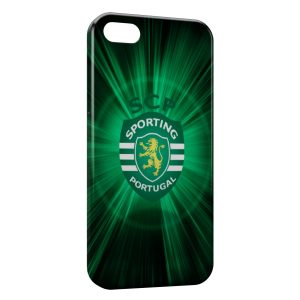 Coque iPhone 5/5S/SE Sporting Portugal Football