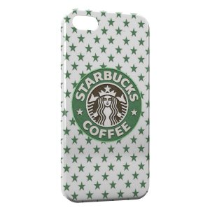 Coque iPhone 5/5S/SE Starbucks Coffee Design Green