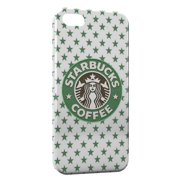 Coque iPhone 5/5S/SE Starbucks Coffee Design Green