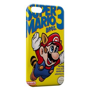 Coque iPhone 5/5S/SE Super Mario 3
