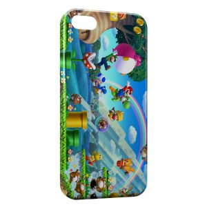 Coque iPhone 5/5S/SE Super Mario Bros New