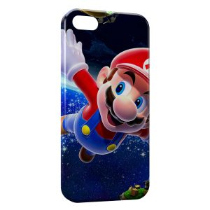 Coque iPhone 5/5S/SE Super Mario Galaxy 4