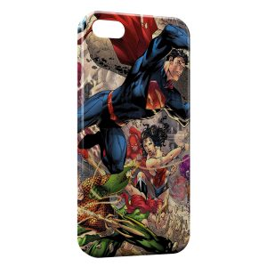 Coque iPhone 5/5S/SE Superman Comic
