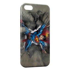 Coque iPhone 5/5S/SE Superman Rock