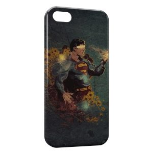 Coque iPhone 5/5S/SE Superman Vintage Design