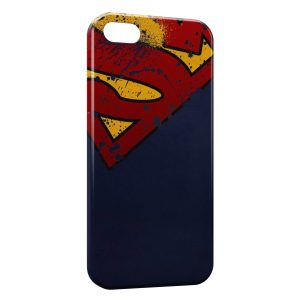 Coque iPhone 5/5S/SE Superman Vintage Style