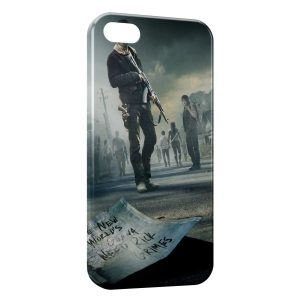 Coque iPhone 5/5S/SE THe Walking Dead 4