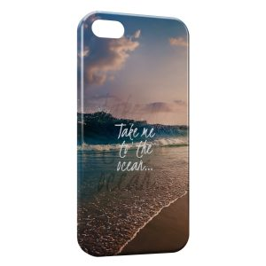 Coque iPhone 5/5S/SE Take me to the Ocean