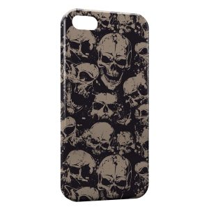 Coque iPhone 5/5S/SE Tete de mort 8
