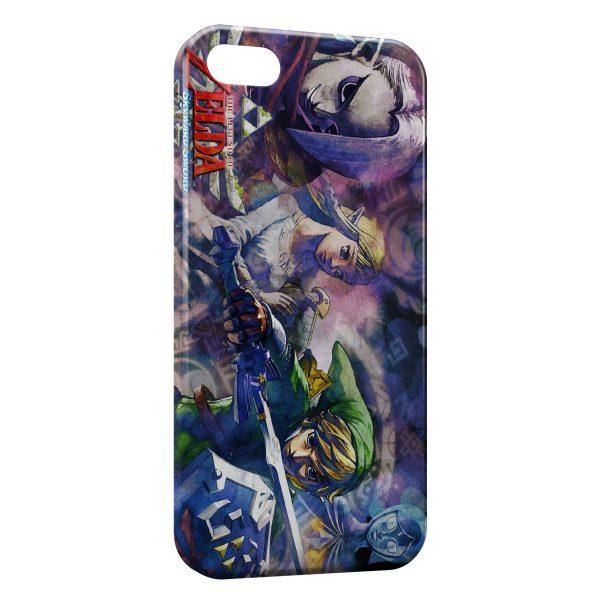 Coque iPhone 5/5S/SE The Legend of Zelda Skyward Sword 3