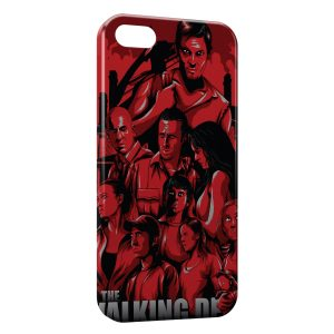 Coque iPhone 5/5S/SE The Walking Dead 5