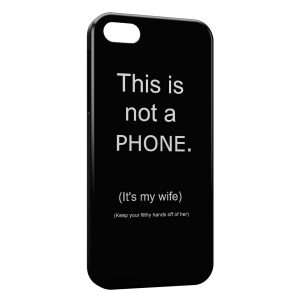 Coque iPhone 5/5S/SE This is not a Phone