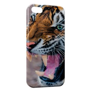 Coque iPhone 5/5S/SE Tiger 4