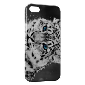 Coque iPhone 5/5S/SE Tiger & Blue Eyes