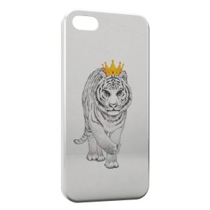 Coque iPhone 5/5S/SE Tiger Tigre Style Design