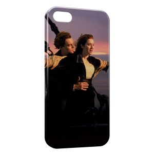 Coque iPhone 5/5S/SE Titanic Leonardo Di Caprio Rose 2