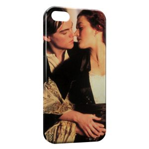 Coque iPhone 5/5S/SE Titanic Leonardo Di Caprio Rose