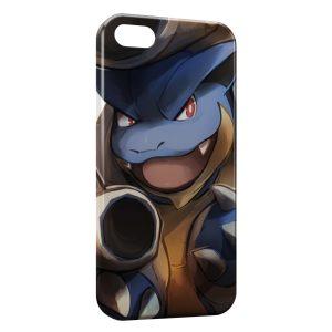 Coque iPhone 5/5S/SE Tortank Pokemon Painted