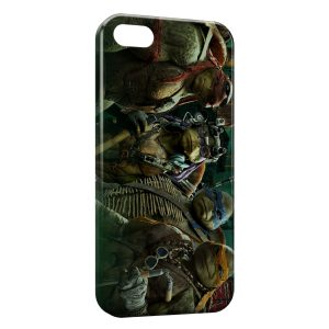 Coque iPhone 5/5S/SE Tortue Ninja 5