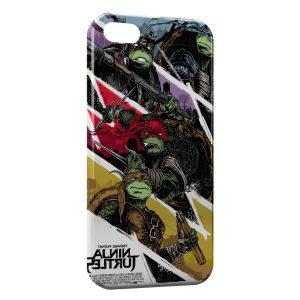 Coque iPhone 5/5S/SE Tortue Ninja 6