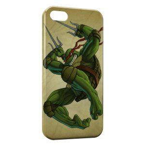Coque iPhone 5/5S/SE Tortue Ninja 7